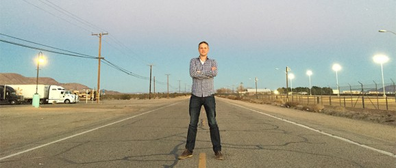 Here I am on Route 66, on my way to The Ellen DeGeneres Show from Las Vegas ;-)