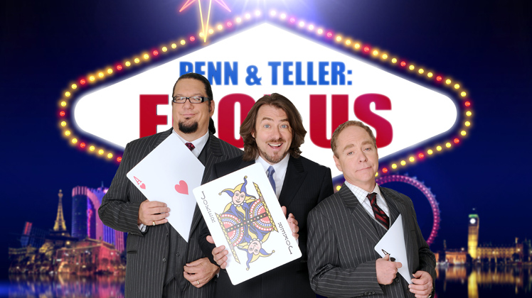 Penn & Teller: Fool Us set