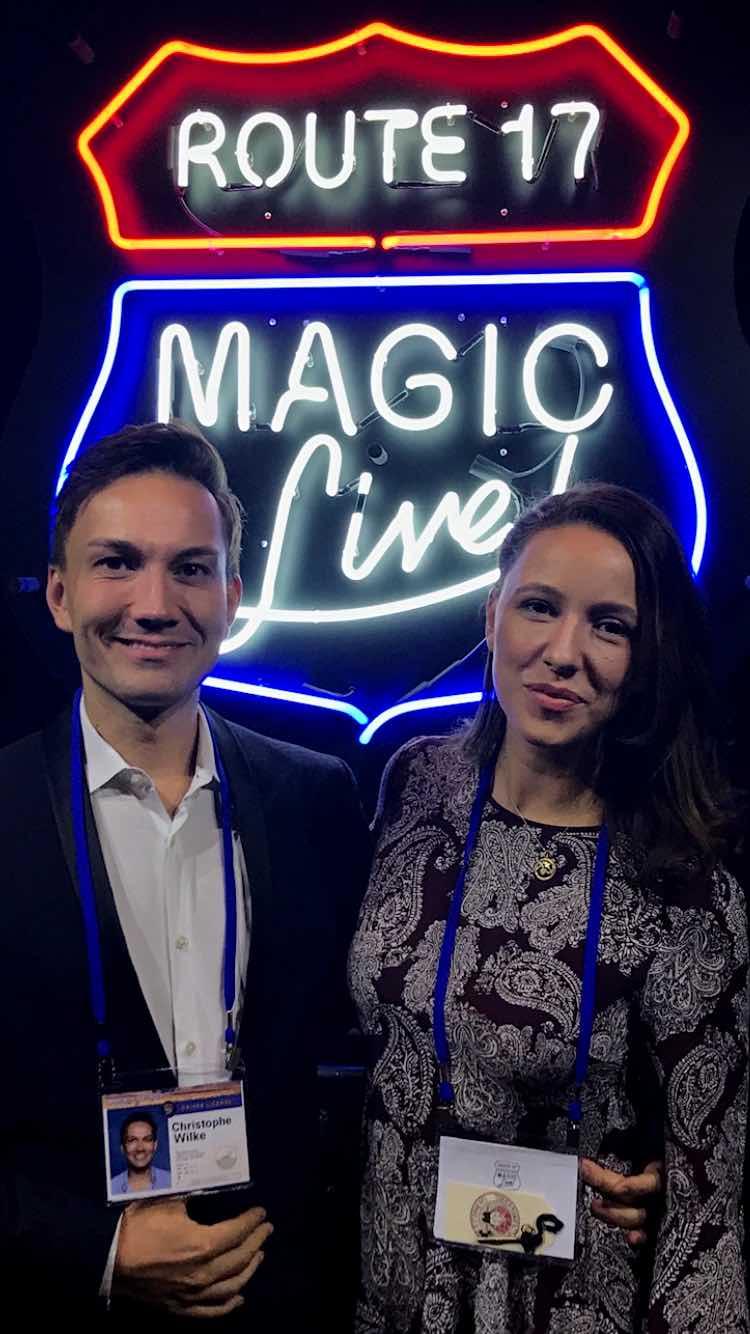 iPad Magicians Olivia Valerie and Christoph Wilke
