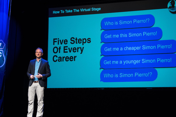 Keynote Speaker Simon Pierro in Las Vegas