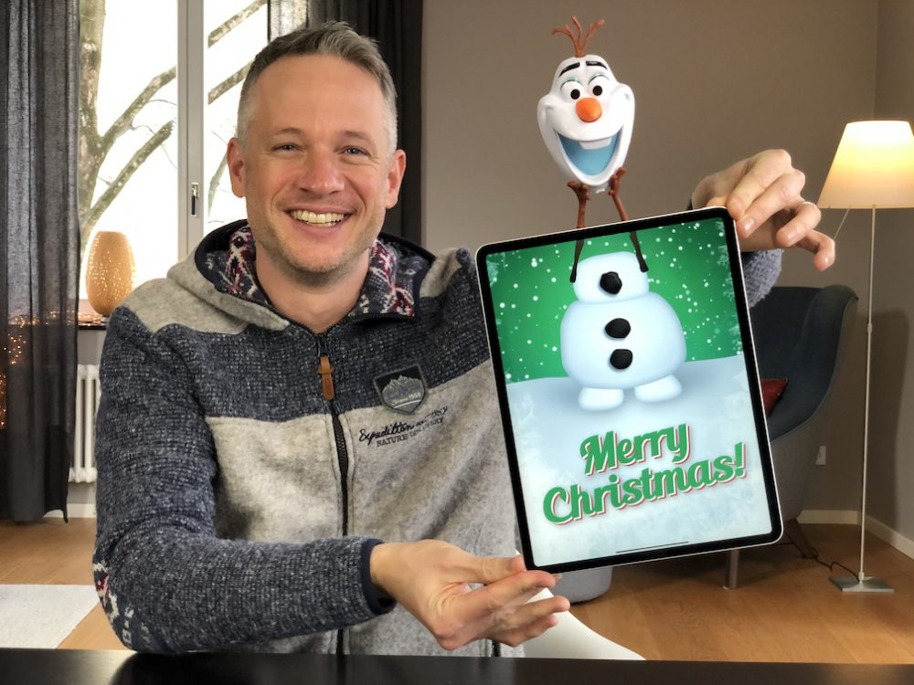 Fan-Art with Olaf from Frozen and Simon Pierro